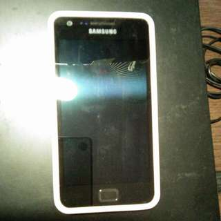 Galaxy S2 With Full Box And 3 Cases