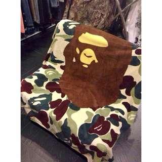 BAPE Camo Fleece blanket
