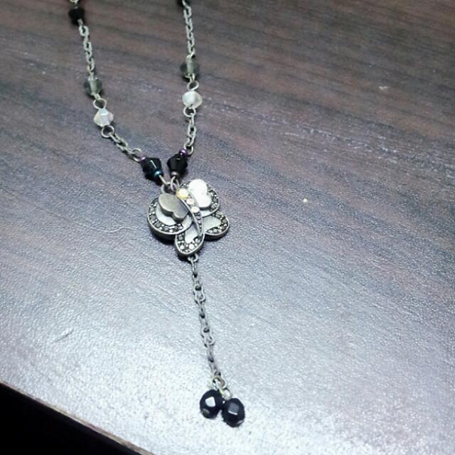 蝴蝶造型復古項鍊