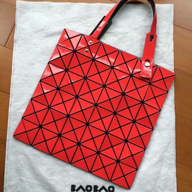 BAO BAO手提包(正紅色)