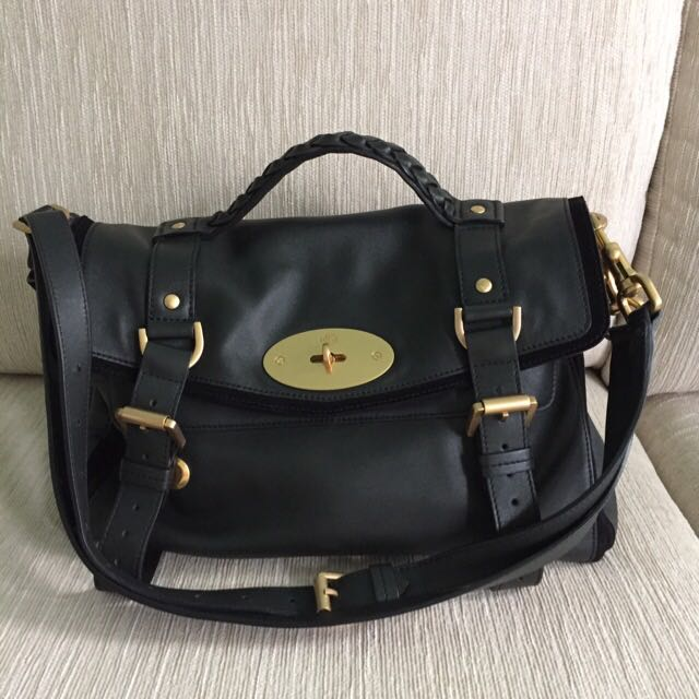 3fb741314a ... hot mulberry alexa bag in evergreen luxury on carousell a52ed 96da2