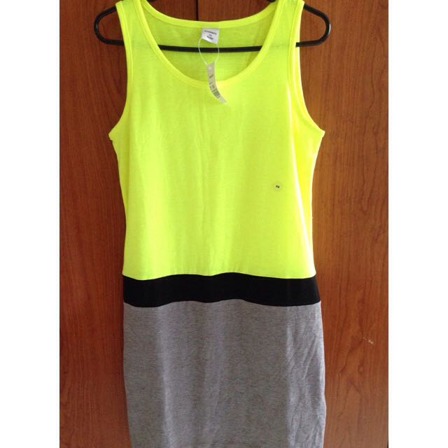 Neon Lime Dress from Bossini