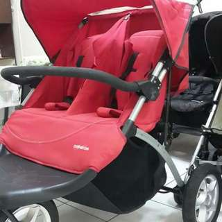 Mothercare Twin Stroller