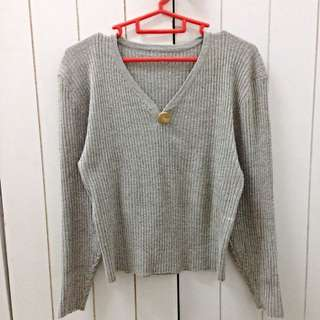 High Cut Sweater