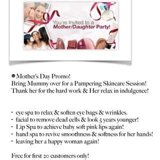 Free Mother's Day Promo!