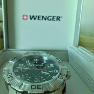 Silver Wenger Watch