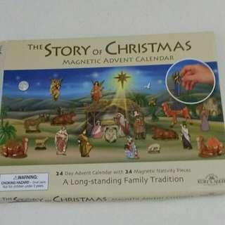 BN Advent Calendar Magnetic Nativity Scene