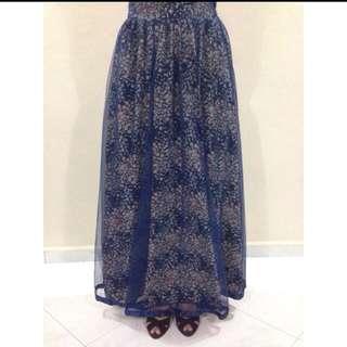 SALE!! Flowery Tutu Skirt