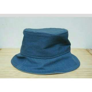 (含運)雙色牛仔漁夫帽