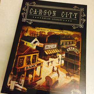 Carson City Boardgame Out Of Print BNIB