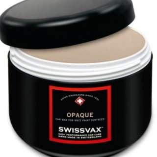 Premium Wax specially for Matt Paintwork