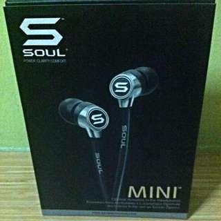 "Optimal Acoustics In-Ear ""SOUL"" MINI Headphones"