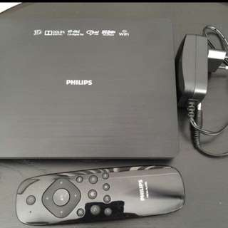 Slightly Used Philips Hdm1800 Home Media Player