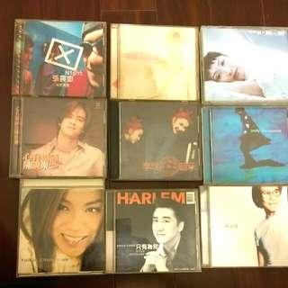 90年代正版CD 李玟、蘇永康、庾澄慶、劉德華、陳曉東、彭羚