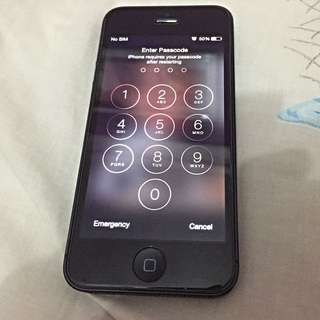 (Reserved) iPhone 5 Black 16gb