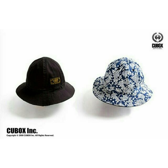 Cubox雙面漁夫帽