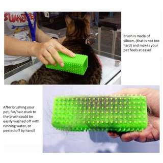 Pet fur removal brush ( good for Dog/Cat/Rabbit) - It Really Works!
