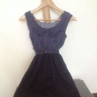 Sweet Polka Dot Dress