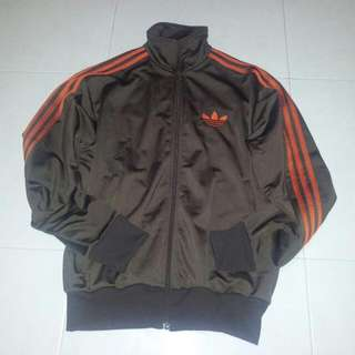 Brown Adidas Firebird Jacket