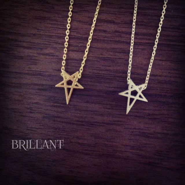✨星星鎖骨短鏈✨