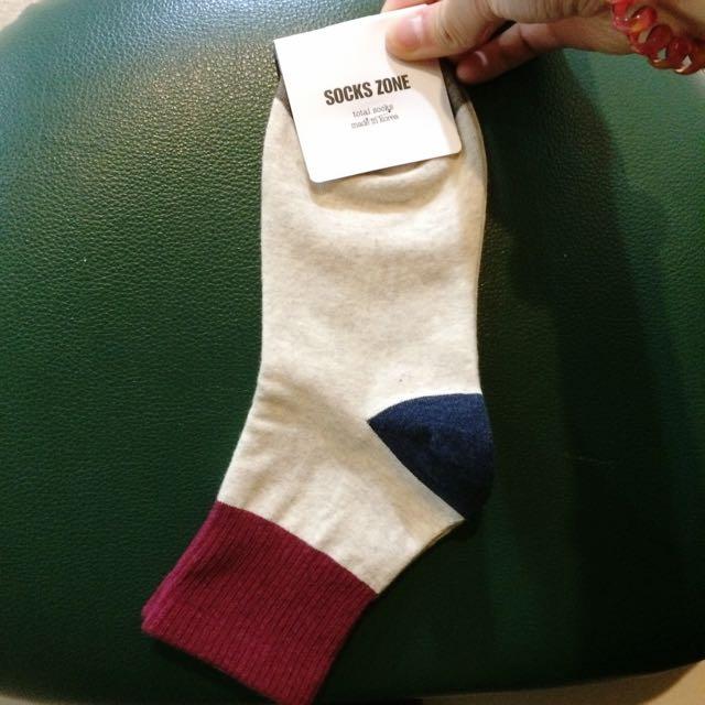 含運)韓國製古著襪子