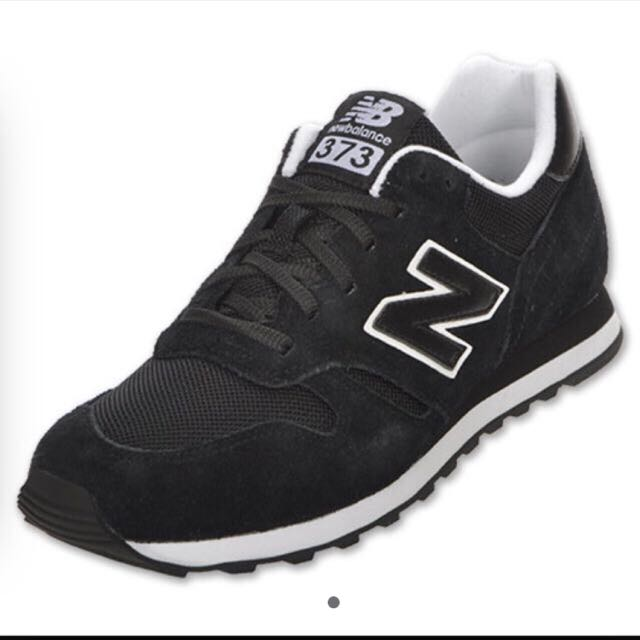d752929422e81 Authentic New Balance 373 Black, Women's Fashion on Carousell