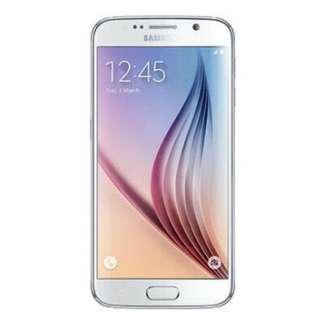 1 Week Old Samsung S6 Pearl White 32gb With Freebies