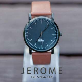 `JEROME' - A Locally Designed Unisex Watch
