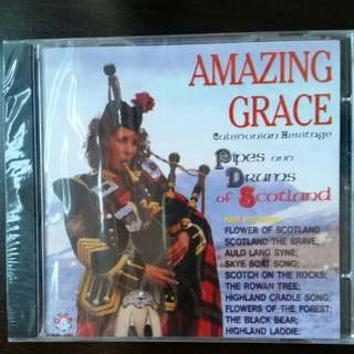 CD for pipes and drums of scottland