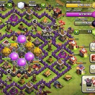 Clash Of Clans Farming Bot.