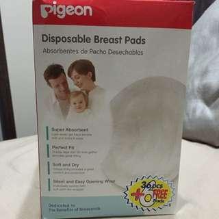 BNIB Disposable breast pads Pigeon