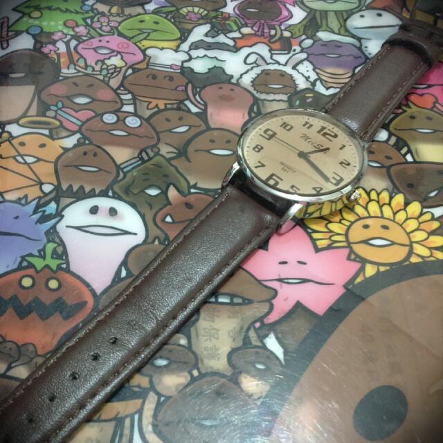 (暫售)復古指針手錶