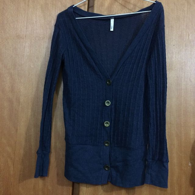 二手-深藍+藕荷針織外搭(含運)
