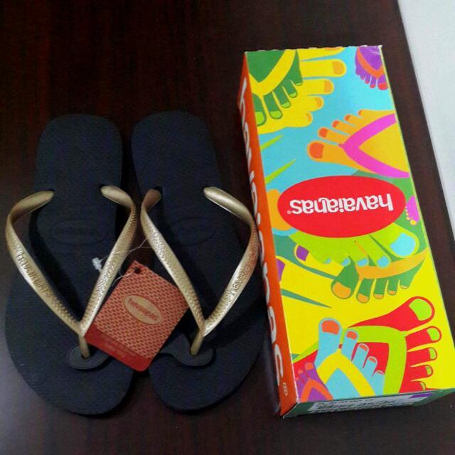 全新havaianas 哈瓦仕拖鞋 (女)