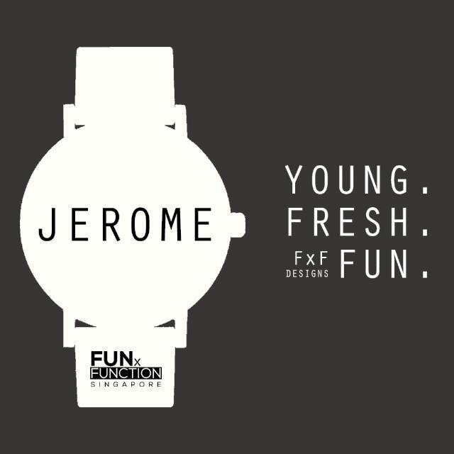 `JEROME' - A Locally Designed Unisex Watch