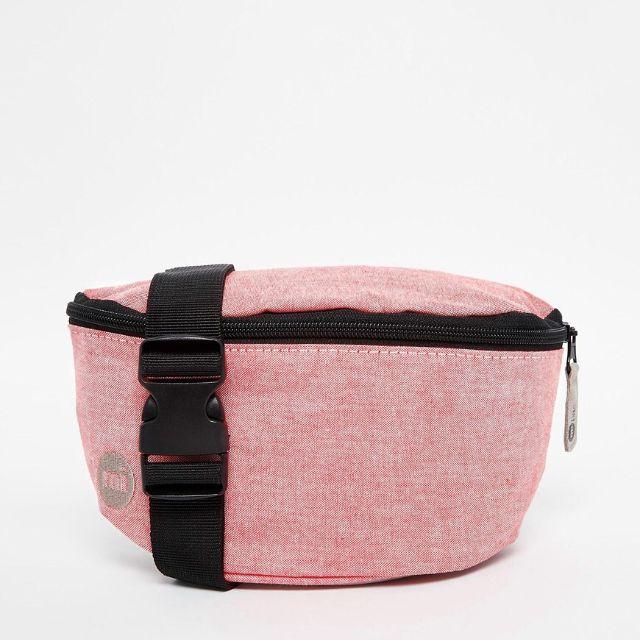 「全新」英國Mi-Pac Bumbag 粉紅腰包