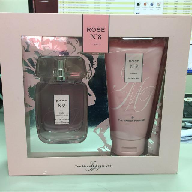 ROSE No 8 荷蘭帶回的女性淡香水禮盒 (全新)