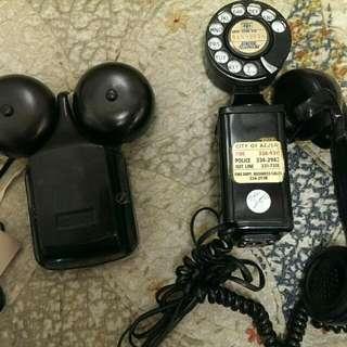 美國古董電話 品項完整 可撥打可接聽 老物