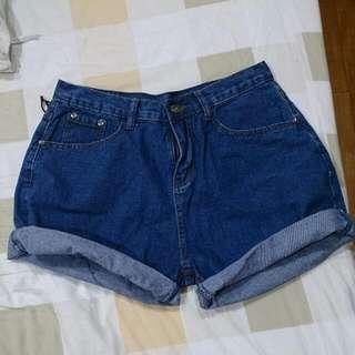 (全新)牛仔短褲
