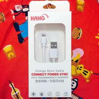 現貨iPhone6/5/5S/IPAD mini 耐拉傳輸充電線