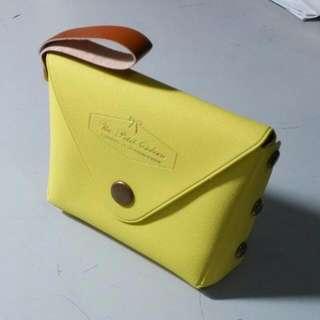 (保留)黃色小零錢包﹝二手﹞
