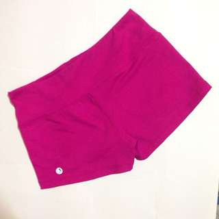 Pre Loved Hot Pink Yoga Shorts (Reserved)