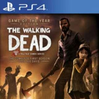 Walking Dead Complete Season Ps4