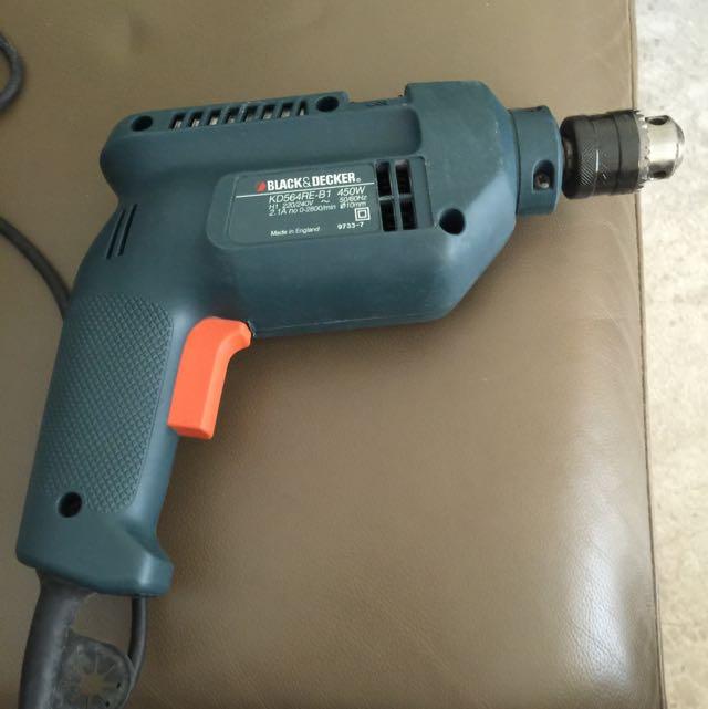 (RESERVED)Black N Decker Power Drill