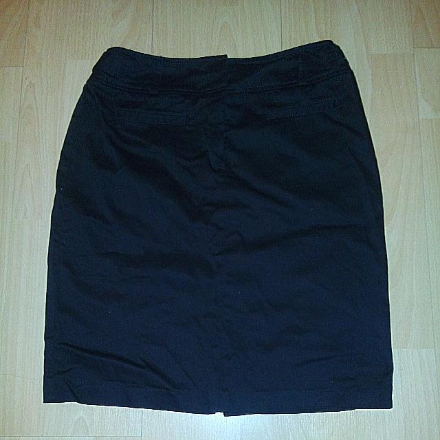 Black Workwear Skirt
