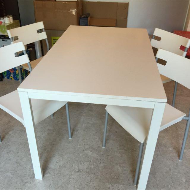 IKEA Melltorp Dining Set