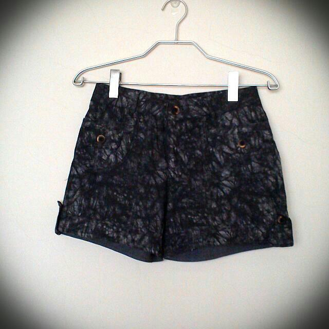全新黑色渲染短褲M-L