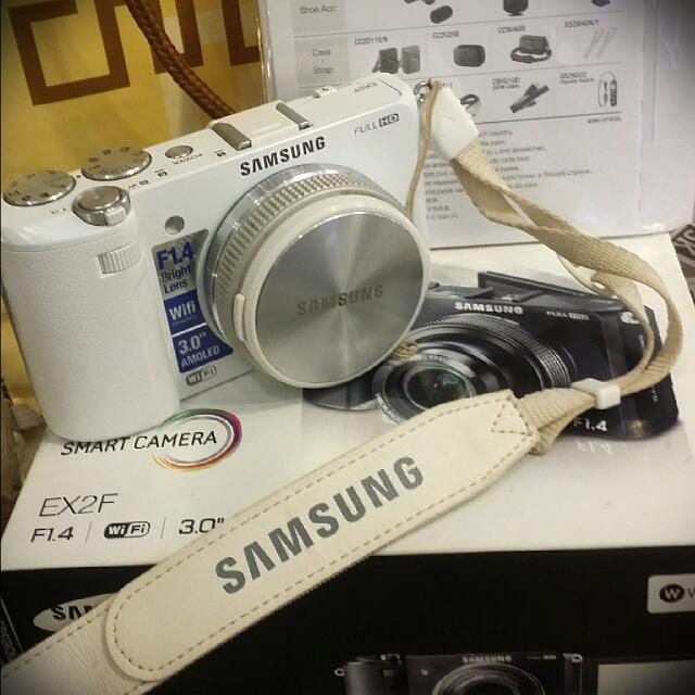 SAMSUNG EX2F F1.4類單眼相機