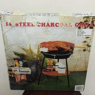 Indoor+outdoor Charcoal Grill