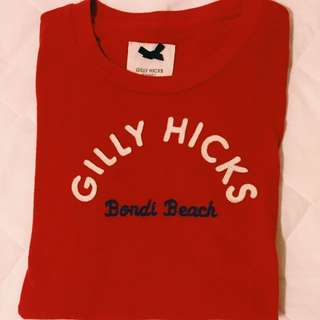 Gilly Hicks 紅色短T